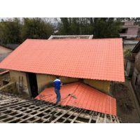 江苏连云港地区合成树脂瓦批发 pvc 塑胶琉璃瓦 塑料瓦家供应 屋顶瓦批发