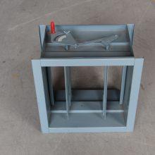 供应不锈钢手动定位风阀耐腐蚀风管阀门 通风管道风量调节阀定制