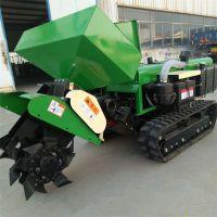 陜西履帶式開溝施肥回填一體機 葡萄園旋耕除草機 潤豐 開溝機詳細參數