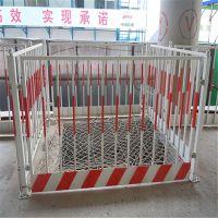 基坑防护栏厂家 工地喷塑围栏价格 道路修建障碍警示栏