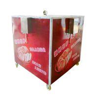 烧饼机 全自动商用万能转炉燃气烧饼机 烤饼炉新款 不锈钢小吃设备