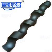 尼龙螺旋推料器加工定制 灌装机输送螺杆 尼龙搅料螺杆加工定制