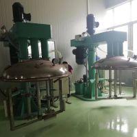 中高粘度物料三轴搅拌机 锐勒复合材料三轴刮壁分散机