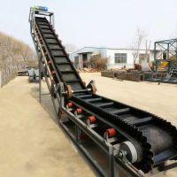宜昌市水泥装车皮带机 移动式散粮食输送机 12米长带式输送机