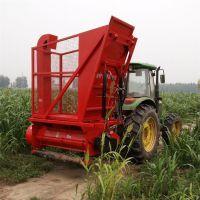 玉米秸秆青贮回收机 玉米秸秆粉碎收集机 青储秸秆回收机