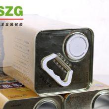 食用油铁盒厂家-龙波森铁罐包装-食用油铁盒