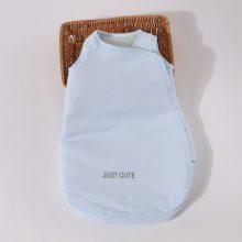 新生儿宝宝背心式夹棉睡袋空气层抱被保暖襁褓抱毯