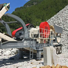 王泉石灰石破碎机图片 石料破碎机厂家 移动碎石机设备