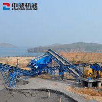 大型石子生产线 砂石料成套设备 玄武岩破碎制砂生产线设备