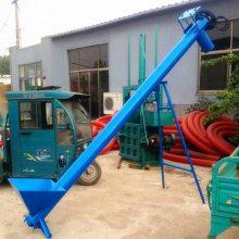 工地黄沙螺旋提升机 生产垂直式散颗粒上料机 水泥粉管式上料机