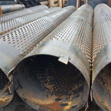 久汇降水钢管273mm桥式滤水管(渗水管)实管 钢滤管生产企业