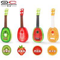 仿真水果迷你吉他四弦琴尤克里里乌克丽丽可弹奏乐器益智儿童玩
