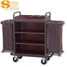专业生产SITTY斯迪99.9803TF金属木结构拆装式客房服务车/房口车/房间清洁车