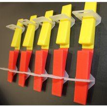 瓷砖找平器 透明底座 塑料插片 调平定位器 省力推紧钳可重复使用