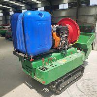 厂家直供履带式旋耕机 园林一体开沟机 遥控自走式施肥机