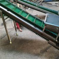 铝型材自动输送机带防尘罩 食品专用输送机