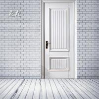 森森实木复合烤漆门 白色强化原木烤漆门 生态环保卧室平开木门