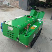 操作灵活履带施肥机 自走式旋耕开沟培土机 带座驾履带旋耕除草机