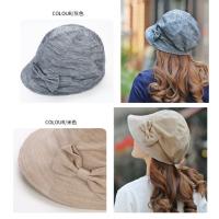 品牌女士遮阳帽 新款太阳帽团购 防晒紫外线夏季帽子 渔夫帽