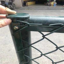 运动场勾花网 球场勾花网 绿色球场围栏