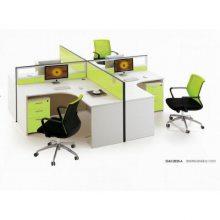 云南职员办公家具办公桌简约现代电脑桌屏风卡座4人6人位双人位员工办公桌