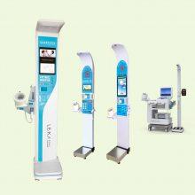 河南健康一体机厂家_乐佳HW-V6000健康自助体检一体机
