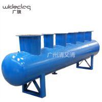 广旗供应定制非标不锈钢集水器 分水器 大流量分水器 分流器