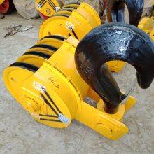 厂家直销 16吨行车吊钩组 铸钢滑轮半封吊钩 起重机吊钩