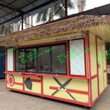 海豚屋 主题乐园风景区水上世界零售花车 海洋馆动物园零售商亭