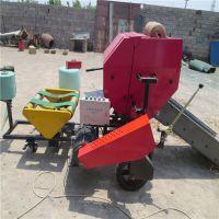 鲜草压缩打捆机每捆重量在130斤左右 包膜机一次完成工作