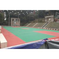 甘孜鸿瑞铠室外网球场施工