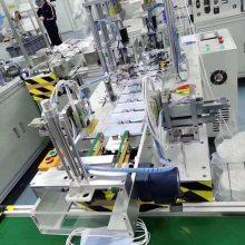 口罩打片机自动一次性平面口罩制片机 日产量高达12万片 变速调节 1人操作