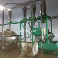 小麦杂粮石磨面粉加工设备 石磨面粉机价格香油石磨机面粉磨