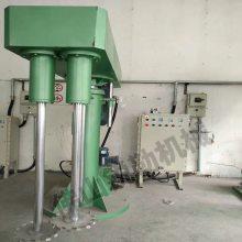 广东江西双轴分散机厂家 30kw乳胶漆双轴搅拌机