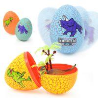 彩色裂纹 恐龙蛋 仿真恐龙动物模型 儿童塑料玩具