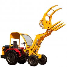 高效率推土装载机 小型农用抓木机 可装卸沙土石子混泥土装载机