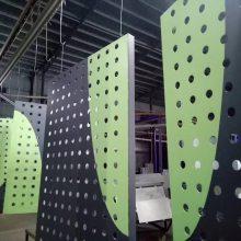 定制景区公园雕花板 大型广场铝单板 收边铝板材料