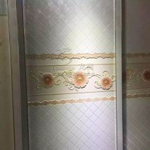 室内玻璃移门 橱柜门 衣柜门uv喷绘机 玻璃屏风 高清3D平板打印机