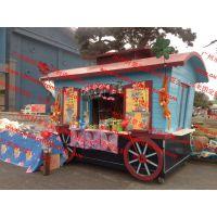 景区移动小卖部,方特主题公园餐饮花车,户外售货亭,贩卖花车