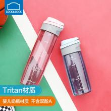 乐扣乐扣ABF763 塑料运动水杯便携健身Tritan杯子户外大容量水杯ABF762团购