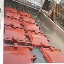 双向止水铸铁闸门2米×2米及5T手动螺杆式启闭机