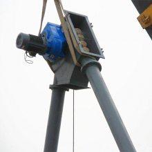 南昌市倾斜式防尘煤粉管链输送机_新型多点出料粉状管链输送机市场价格
