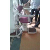 医院楼梯扶手斜挂式电梯 残疾人无障碍升降机 百色市 西安市启运座椅老年人电梯