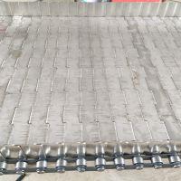厂家直销穿轴滚子链条式不锈钢链板车间流水线承重高宁津卓远输送设备有限公司