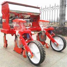 拖拉机牵引4行6行谷子精密播种机 免间苗黄豆玉米施肥播种机价格