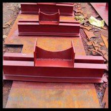 沧州汇鹏 D6管夹横担 D7焊接横担 管卡横担 尺寸加工