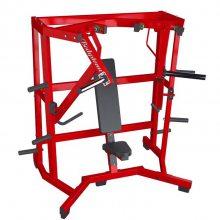 阔角度推胸悍马挂片力量商用健身器械