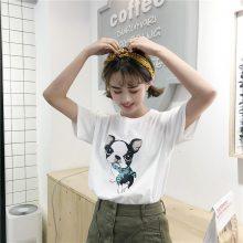 换季清货大量女式T恤夏季短袖韩版时尚女士上衣纯棉小衫2元清