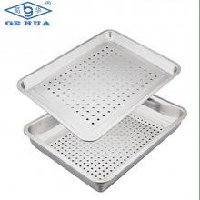 厂家直销 蒸箱方盘 不锈钢饭盘 冲孔方盘 厨房蒸柜配套