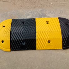 停车场橡胶减速带规格、深圳减速带厂家、互通橡胶减速路拱价格